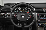 Car pictures of steering wheel view of a 2016 Volkswagen Passat 3.6L-SEL-Premium-Auto 4 Door Sedan Steering Wheel