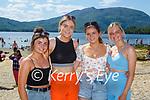 Megan Brosnan, Elizabeth stack, Alison moynihan, and Zena Shine Killarney enjoying the sunshine in Lough Leane Killarney on Saturday