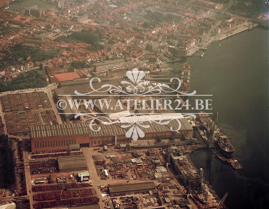 Juli 1972. Boelwerf in Temse.