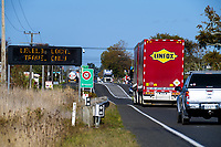 SH1 through Sanson at 3pm, Wednesday during Level 3 lockdown for the COVID-19 pandemic in Sanson, New Zealand on Wednesday, 29 April 2020. Photo: Dave Lintott / lintottphoto.co.nz
