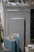 aerial photograph One Embarcadero Center office tower San Francisco