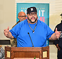 MIAMI, FLORIDA - JANUARY 29: Fred Hammond of Commissioned attends the 21st Annual Super Bowl Gospel Celebration Press Conference at James L Knight Center on January 29, 2020 in Miami, Florida.  ( Photo by Johnny Louis / jlnphotography.com )
