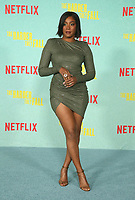LOS ANGELES, CA - OCTOBER 13: Tiffany Haddish at the Special Screening Of The Harder They Fall at The Shrine in Los Angeles, California on October 13, 2021. Credit: Faye Sadou/MediaPunch
