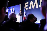 Emmanuel Macron - ConfÈrence de presse pour la prÈsentation du programme d'Emmanuel Macron ‡ la prÈsidentielle au Pavillon Gabriel ‡ Paris, France, le 02/03/2017.