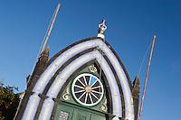 Heiliggeisttempel (Imperio) in Castel Branco auf der Insel Faial, Azoren, Portugal