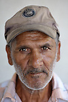 Sadedin Husein, 63, is a Roma man who lives in the mostly Roma town of Suto Orizari, Macedonia, but spends his days at work collecting plastic bottles in the streets of Skopje, which he sells to recyclers.