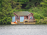 Eagles Mere Lake, Boathouse cottage hideaway.