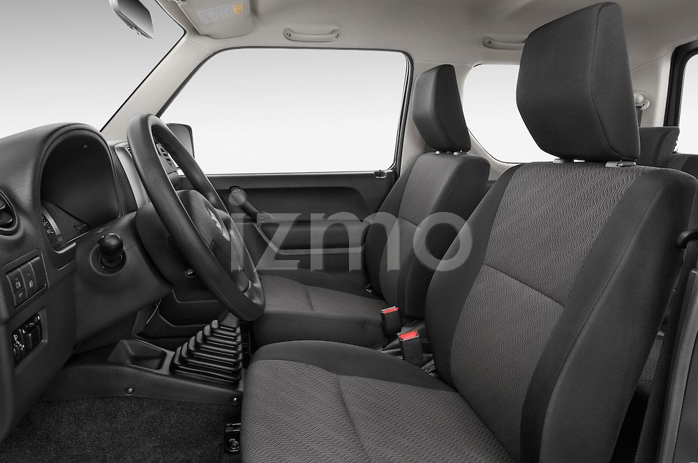 Front seat view of a 2014 Suzuki JIMNY JLX X-Citement 3 Door SUV 4WD Front Seat car photos