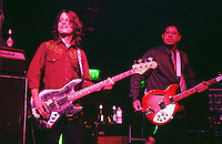 Pictured L-R: David Chapple and Rusty Squeezebox  08 February 2004<br /> Re: Love with Arthur Lee at the Coal Exchange, Cardiff, south Wales, UK.