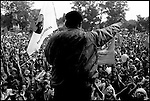 Summer '99-- Jakarta, Indonesia -- A PDI rally for their presidential candidate Megawati..