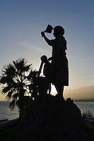 Monumento Memaia in Porto Novo, Santo Antao, Kapverden, Afrika