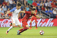Kansas City, KS. - May 28, 2016: The U.S. Men's national team defeated Bolivia 4-0 in an international friendly tuneup match prior to the opening of the 2016 Copa America Centenario at Children's Mercy Park.
