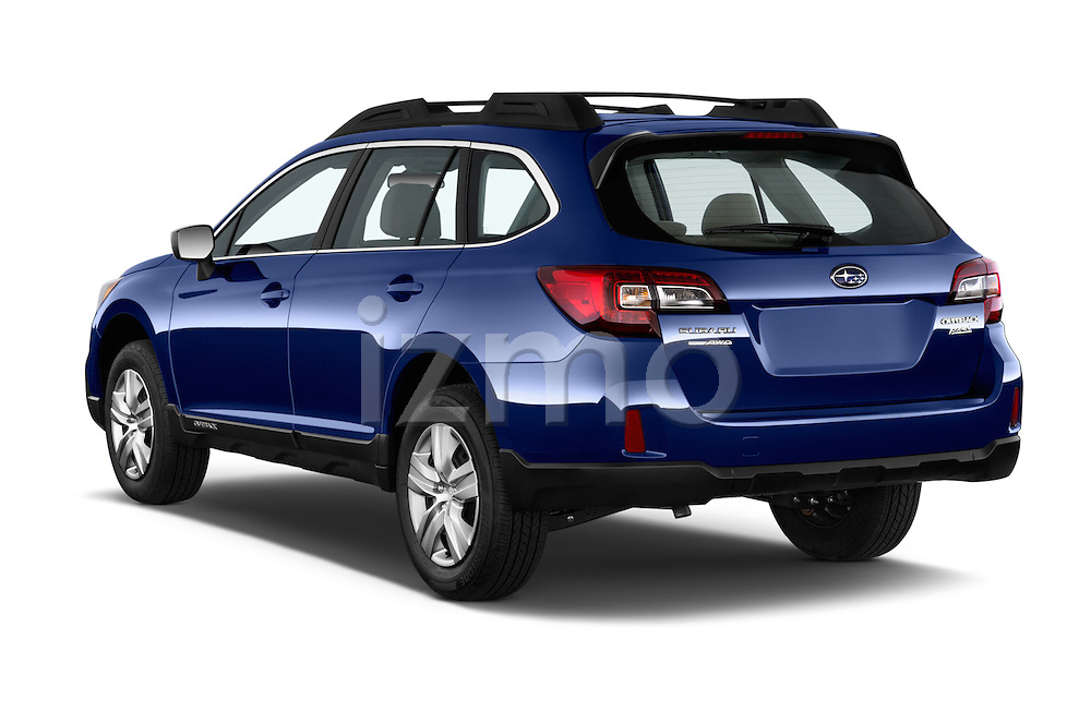 Car pictures of rear three quarter view of a 2015 Subaru Outback 2.5i CVT 4 Door Wagon Angular Rear