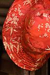 Silk Hat - Red silk hat, Hoi An, Viet Nam