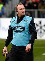 Photo: Richard Lane/Richard Lane Photography. Bath Rugby v Wasps. Aviva Premiership. 04/02/2017. Wasps' coach, Lee Blackett.