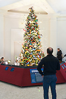 Origami Tree at the American Museum of Natural History in New York