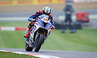 Peter Hickman of Smiths Racing during warm up for the MCE British Superbikes in Association with Pirelli round 12 2017 - BRANDS HATCH (GP) at Brands Hatch, Longfield, England on 15 October 2017. Photo by Alan  Stanford / PRiME Media Images.