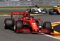 30th August 2020, Spa Francorhamps, Belgium, F1 Grand Prix of Belgium , Race Day;  16 Charles Leclerc MCO, Scuderia Ferrari Mission Winnow