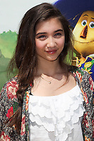 """WESTWOOD, LOS ANGELES, CA, USA - MAY 03: Rowan Blanchard at the Los Angeles Premiere Of """"Legends Of Oz: Dorthy's Return"""" held at the Regency Village Theatre on May 3, 2014 in Westwood, Los Angeles, California, United States. (Photo by Celebrity Monitor)"""