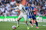 Cristiano Ronaldo of Real Madrid in action during their La Liga match between Real Madrid and Deportivo Alaves at the Santiago Bernabeu Stadium on 02 April 2017 in Madrid, Spain. Photo by Diego Gonzalez Souto / Power Sport Images