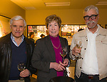 """Dave Hornbeck, Robbie Whipp and Richard Breitling during the Reno Magazine """"Bubbles Tasting"""" event at Total Wine in Reno on Friday night, February 9, 2018."""
