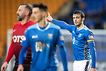St Johnstone v Kilmarnock…24.11.18…   McDiarmid Park    SPFL<br /> Joe Shaughnessy wearing a rainbow armband<br /> Picture by Graeme Hart. <br /> Copyright Perthshire Picture Agency<br /> Tel: 01738 623350  Mobile: 07990 594431