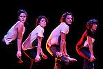 Figure(s)....Choregraphie : Serge Ricci..Compagnie : Paul et les oiseaux..Decor : ..Lumiere : ..Costumes : ..Avec :..Elodie Sicard..Melodie Gonzales..Benjamin Forgues..Claire Charliot..Lieu : Centre National de la danse..Ville : Pantin..Le : 23 11 2009..© Laurent PAILLIER / photosdedanse.com..All rights reserved