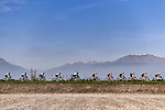 The peloton in action during the 103rd edition of GranPiemonte 2019 running 183km from Aglie to Santuario di Oropa (Biella), Italy. 10th Octobre 2019. <br /> Picture: Marco Alpozzi/LaPresse | Cyclefile<br /> <br /> All photos usage must carry mandatory copyright credit (© Cyclefile | LaPresse/Marco Alpozzi)