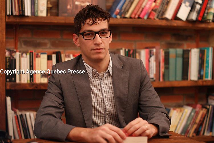 Joao Araujo<br />  en 2015<br /> <br /> PHOTO : Pierre Roussel -  Agence Quebec Presse