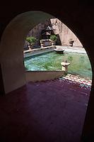 Yogyakarta, Java, Indonesia.  Taman Sari, the Water Castle, mid-18th. Century.  Stairway to the Sultan's Private Pool.
