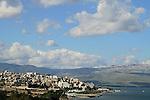 Tiberias by the Sea of Galilee