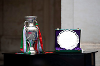 The cup during the official visit of the football Italy National team, after winning the UEFA Euro 2020 Championship.<br /> Rome (Italy), July 12th 2021<br /> Photo Pool Augusto Casasoli Insidefoto