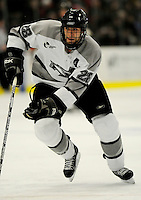 1 December 2007: Providence College Friars' forward Nick Mazzolini, a Junior from Anchorage, AK, in action against the University of Vermont Catamounts at Gutterson Fieldhouse in Burlington, Vermont. The Friars defeated the Catamounts 4-0 in front of a capacity crowd of 4003, for the 64th consecutive sell-out at Gutterson...Mandatory Photo Credit: Ed Wolfstein Photo