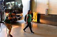 PHILADELPHIA, PA - AUGUST 29: of Portugal of Portugal prior to a game between Portugal and USWNT at Lincoln Financial Field on August 29, 2019 in Philadelphia, PA.