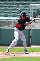 GCL Twins shortstop Engelb Vielma (54) during a game against the GCL Red Sox on July 19, 2013 at JetBlue Park at Fenway South in Fort Myers, Florida.  GCL Red Sox defeated the GCL Twins 4-2.  (Mike Janes/Four Seam Images)