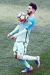 FC Barcelona's Leo Messi during La Liga match. February 26,2017. (ALTERPHOTOS/Acero)