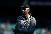 10th January 2021; Sydney Cricket Ground, Sydney, New South Wales, Australia; International Test Cricket, Third Test Day Four, Australia versus India; Nathan Lyon of Australia