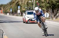 Matteo Moschetti (ITA/trek-Segafredo) <br /> <br /> Final stage 7 (ITT) from San Benedetto del Tronto to San Benedetto del Tronto (10.1km)<br /> <br /> 56th Tirreno-Adriatico 2021 (2.UWT) <br /> <br /> ©kramon