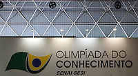 ATENCAO EDITOR: FOTO EMBARGADA PARA VEÍCULOS INTERNACIONAIS. – SAO PAULO, SP, 14 NOVEMBRO 2012 - OLIMPIADAS DO CONHECIMENTO - Movimentacao na VII Olimpiadas do Conhecimento no Centro de Convencoes Anhembi na regiao norte da capital paulista, neta quarta-feira, 14. (FOTO: VANESSA CARVALHO / BRAZIL PHOTO PRESS).