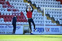 Jamie Cumming of Stevenage FC during Stevenage vs Bradford City, Sky Bet EFL League 2 Football at the Lamex Stadium on 5th April 2021
