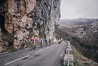 the race leaders<br /> <br /> 76th Paris-Nice 2018<br /> stage 6: Sisteron > Vence (198km)