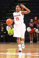 Virginia women's basketball player Ariana Moorer