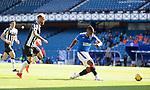 Rangers v St Mirren: Alfredo Morelos misses the target
