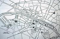 Paris: Plan of Paris, 1730-1789. Willis, WESTERN CIVILIZATION. Reference only.