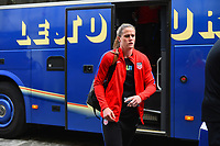 Gothenburg, Sweden - Thursday June 08, 2017: Alyssa Naeher prior to an international friendly match between the women's national teams of Sweden (SWE) and the United States (USA) at Gamla Ullevi Stadium.