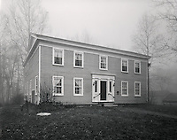 The Reed Case House, found along the Wabash & Erie Canal in Delphi, Indiana, was built in 1844.  Case was a contractor for the canal construction in Carroll County.  After the house was donated to the Canal Association, it was moved to its present location at the Canal Park in 1986.  More information can be found at: <br /> http://wabashanderiecanal.org/Reed_Case_House.html