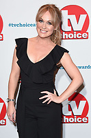 Michelle Hardwick<br /> at the TV Choice Awards 2018, Dorchester Hotel, London<br /> <br /> ©Ash Knotek  D3428  10/09/2018
