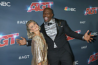 """LOS ANGELES - SEP 18:  Julianne Hough, Terry Crews at the """"America's Got Talent"""" Season 14 Finale Red Carpet at the Dolby Theater on September 18, 2019 in Los Angeles, CA"""