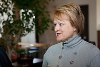 Profile photo on Nicole Menard, ministre quebecoise du Tourisme et ministre responsable de la rÈgion de la MontÈrÈgie (MNA for the riding of Laporte in the MontÈrÈgie region and the current Minister of Tourism) February 17, 2009.<br /> <br /> PHOTO :  Francis Vachon - Agence Quebec Presse