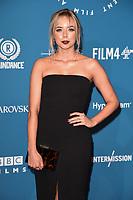 Sascha Parkinson<br /> arriving for the British Independent Film Awards 2018 at Old Billingsgate, London<br /> <br /> ©Ash Knotek  D3463  02/12/2018